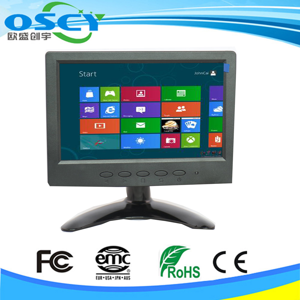 12v dc input HD 1080p 7 inch LCD monitor with HDMI