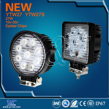 Y&T YTW27 amber switch convertion 3600~3800lm car led driving light led construction working light unique car fog lamp
