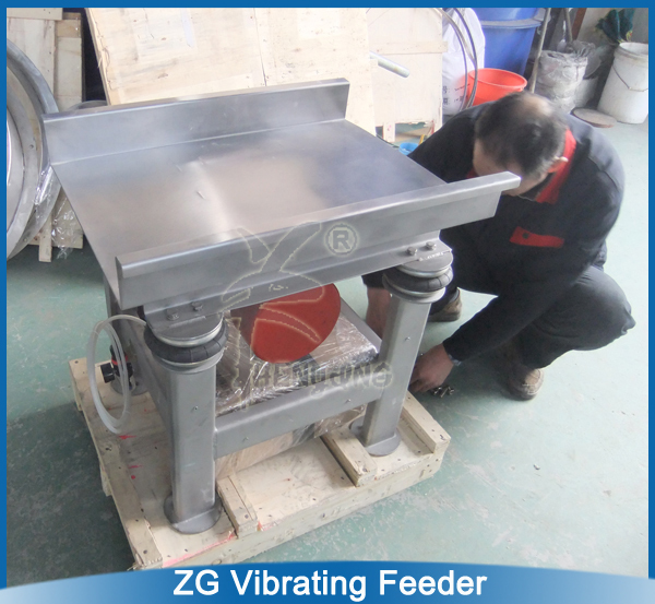 Shrimp Stainless Steel Vibrating Feeder/vibrating conveyor