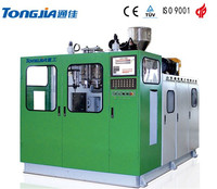 Automatic 2L HDPE bottle extrusion blow moldig machine