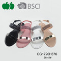 Summer women lady plastic pvc jelly fashion sandals