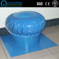 Hot Selling Industrial Roof Turbine Air Ventilator With Nature Force
