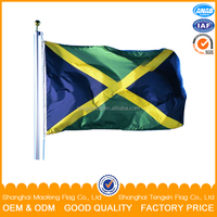 new 100 % polyester woven flag fabric with top quality