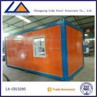 Sandwich Panel Prefabricated Container Coffee Kiosk Design