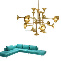 Decorative Pendant Light Botti Triump Golden