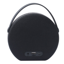 Mini Portable Subwoofer Stereo Fabric Wireless Handle Speaker