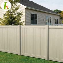 Durable Material Pvc Vinyl Privacy Fencing