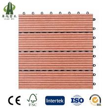 New design environmental backyard diy wpc floor tiles for sale