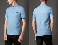 Men's Double-Weave Pique Cotton Polo Shirt