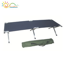 Folding style aluminum stretcher,lightweight military Bed,durable army cot