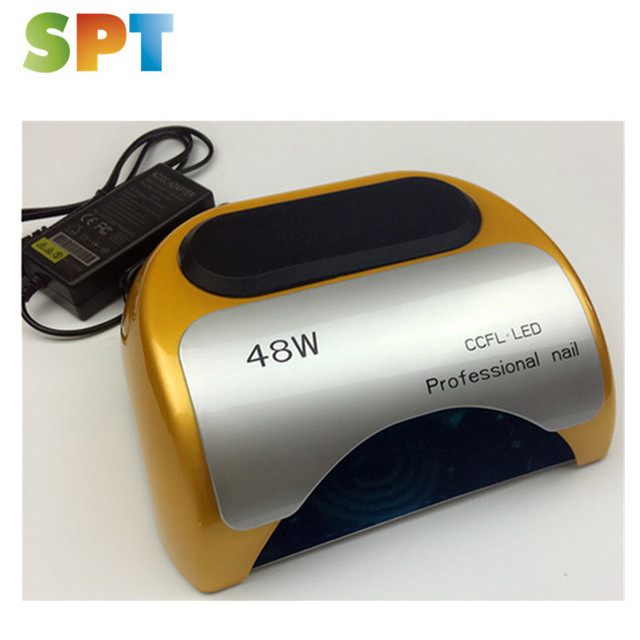 48w pro cure uv dryer for gel ccfl nail led lamp