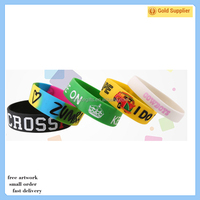 2017 Promotional Gifts Rubber Silicon Bracelet