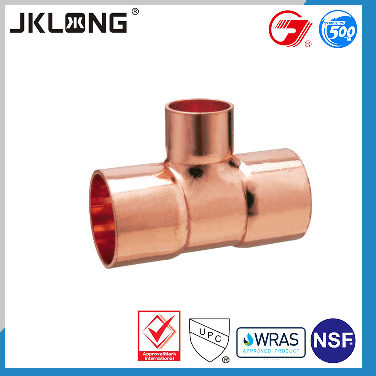 reducer tee air conditioning use copper t fitting