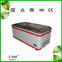 high quality display chiller counter top for vegetable and fruit