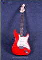 Red-white Vintage Tremolo TEG-154 Electric Guitar