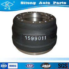 International standard auto parts brake drum for semi trailer truck