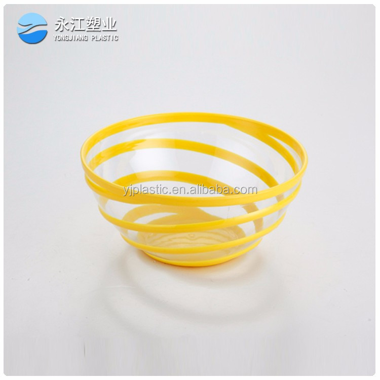 wholesale large cereal bowl restaurant plastic soup bowls microwave food container