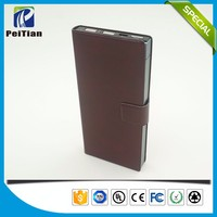 High capacity portable 10000mah dual usb power bank for nokia lumia 1020