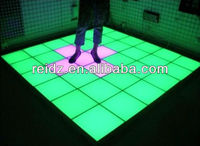 Popular LED dance Floor for party and club Interactive touch-sensitive