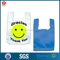 cheap price resealable T-shirt packaging Bag / Plastic Shopping Bags