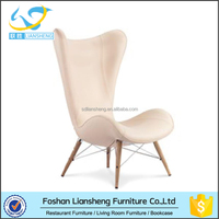 Single High Back retro style Sofa Chair for living room