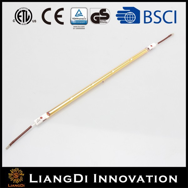 5000hour Long Lifetime 1300W Halogen Heating Lamp