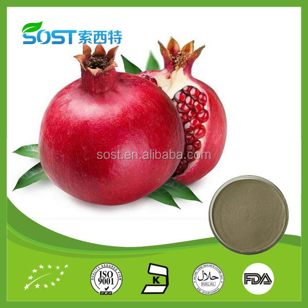 SOST Manufacturer Pomegranate Peel Extract Ellagic Acid
