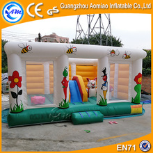 Indoor Inflatable Animal Bouncers Cheap Cartoon Farm Bounce House for Kids