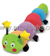 European standard EN71 plush caterpillar stuffed caterpillar plush animal toy