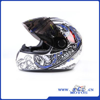 Wholesale Brand Tanked Cool Color Motorcycle Helmets Full Face Dot Graffiti Skeleton Cascos Para Moto S/M/L/XL T-108