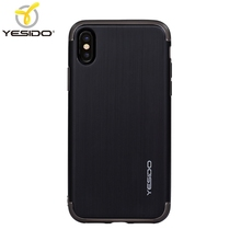 2018 hot products for iphone x case plastic+for iphone x clear tpu pc case+for iphone x case matte black