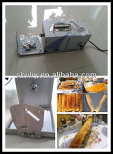 stainless steel potato sprial cutter/manual golden tornado potato sprial cutter(0086-13837171981)