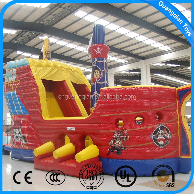 China Factory Price Amazing Super inflatable slide Inflatable Pirate Ship