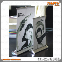 china portable mini advertising vertical roll up banner stand