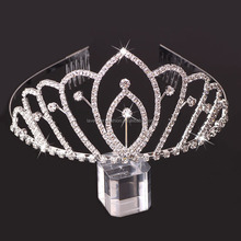 Factory directly fancy hair accessories wholesale crowns and tiaras