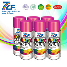 Polyester Aerosol Multicolor Spray Paint Manufacturer