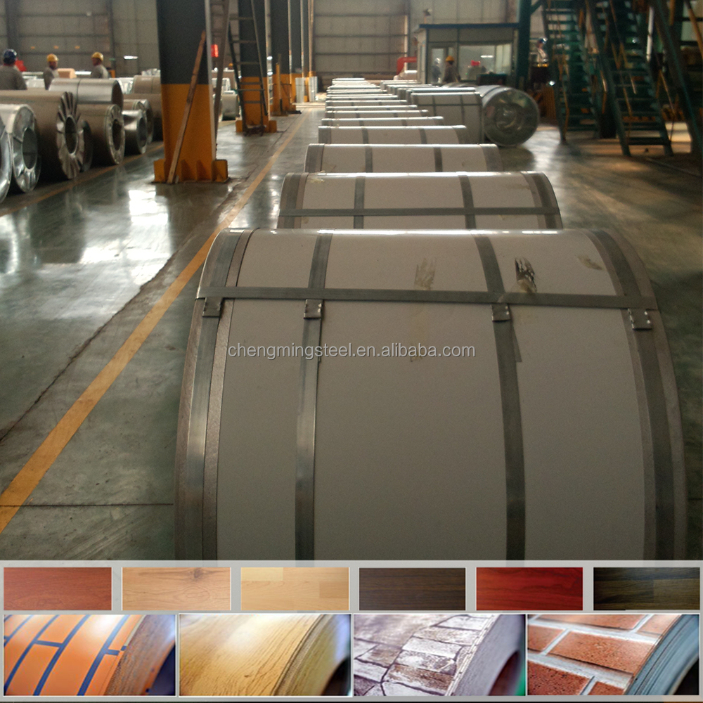 large gauge prepainted brick red steel sheets for roofng/ roof tiles