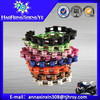 Colored motorcycle chain 428,428H,520 with low price