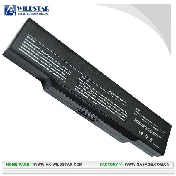 4400mAh 10.8V replacement laptop battery for Benq JoyBook R31E (BQ7300LH)