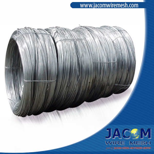 Electro Galvanized Low Carbon Steel Wire. 8 gauge BWG