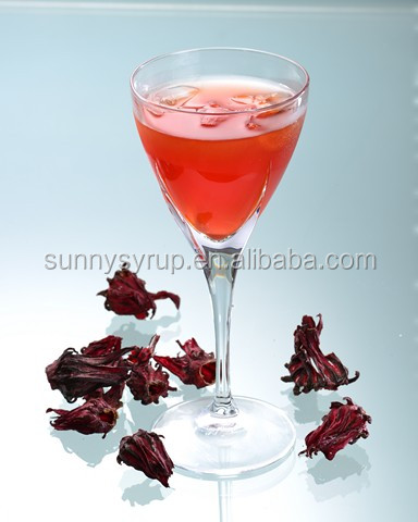 Hibiscus Plum Concentrated Juice & Syrup