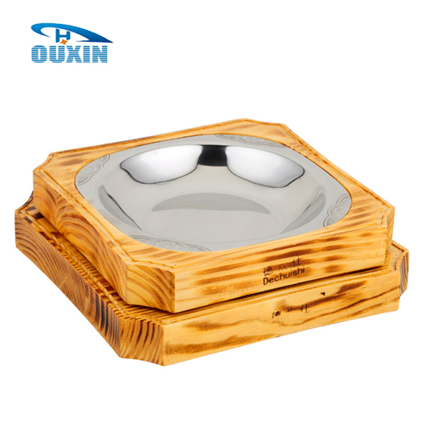 Wholesale Wooden Rectangular Food Serving Trays