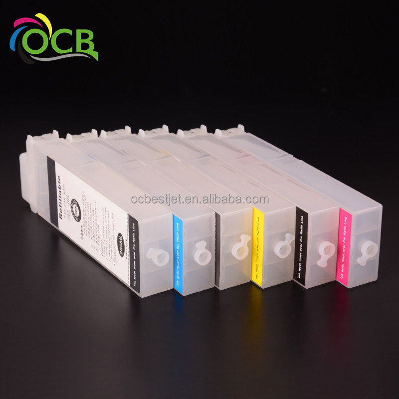 Ocbestjet PFI <strong>102</strong> Empty Refill Ink Cartridge For Canon iPF 500 600 605 610 700 710 720 Printer