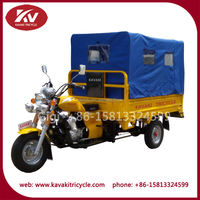 China cheap cheap gas powered 150cc/175cc/200cc/250cc air-cooled adult tricycle for sale