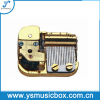 Yunsheng music box17 Note Super Miniature Musical Movement