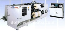China jumbo roll plastic film slitting machine