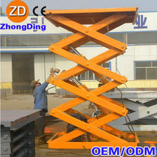 Electric scissor lift/electric car lifts tables