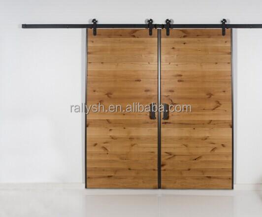 Bi Parting Barn Door Hardware Interior Rustic Barn Doors Buy Interior Wood Doors Partition