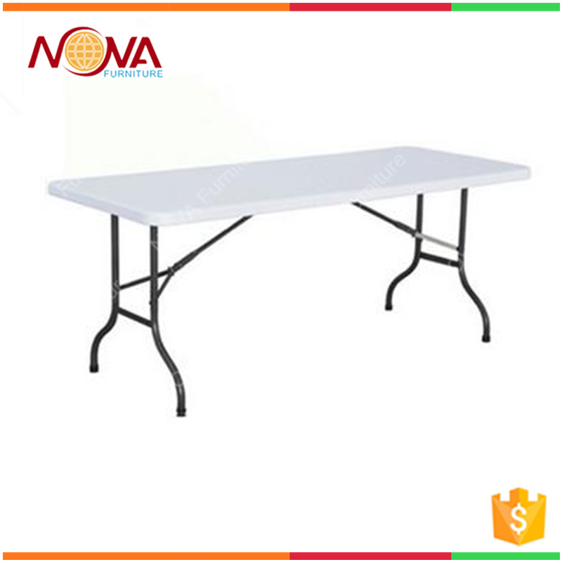 Space saving cheap modern used white folding simple design camping table and chair