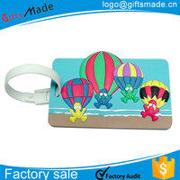 luggage plastic handle/kid luggage tag/luggage tag sublimation blank 2 sided